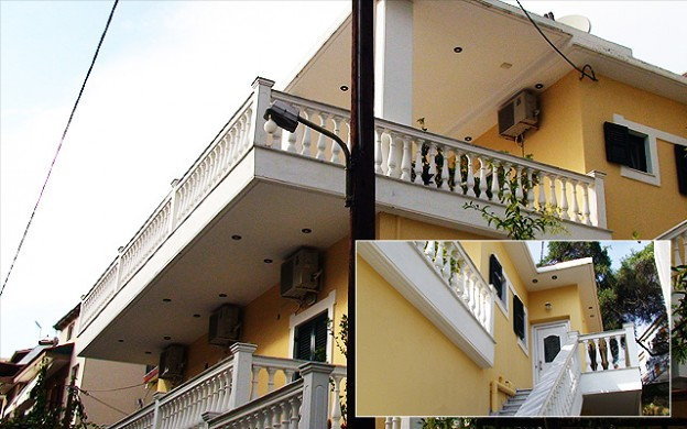 Vila Petrou Parga Galileo tours