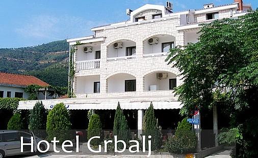Hotel Grbalj Budva Galileo tours