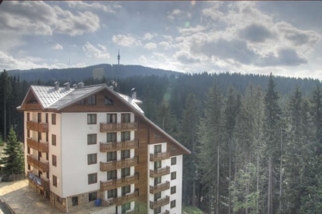 Apart Hotel Nevada Pamporovo zima Galileo tours