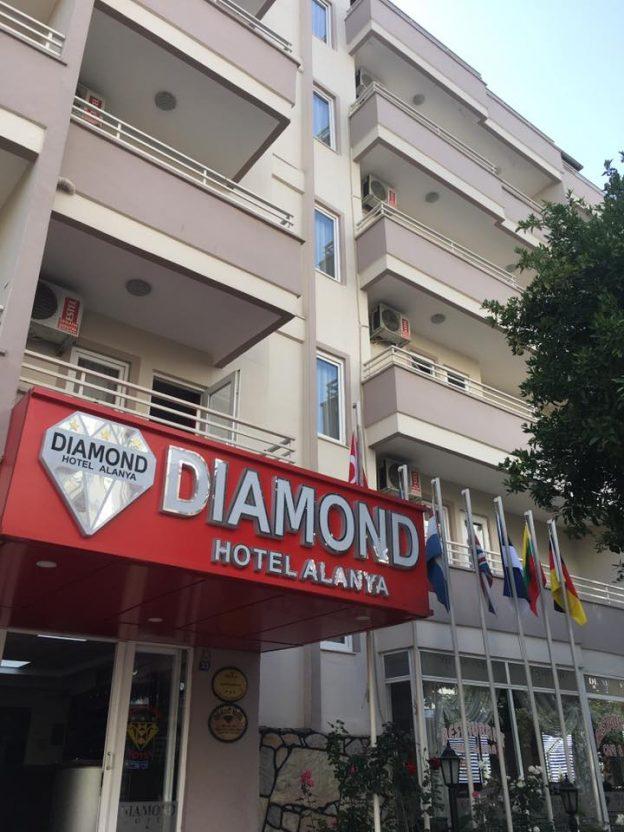 Hotel Diamond - Alanja - Galileo Tours